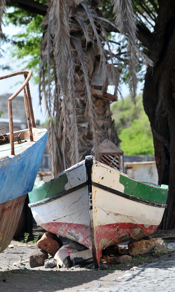 Sao Pedro Bay boat
