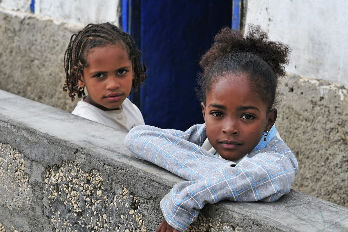 Sao Pedro Bay kids
